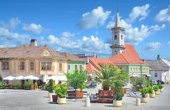 Ржавчина, Neusiedlersee, Бургенланд, Австрия стоковые изображения rf