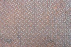 Ржавчины плиты нержавеющей стали предпосылка текстуры железной флористическая Стоковые Фото