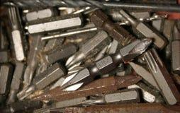Ржавые биты Стоковое Фото