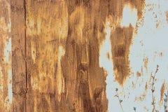 Ржавые дверь гаража или лист утюга Стоковые Изображения RF