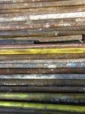 Ржавые старые трубы для строя ремонтины Стоковое Изображение RF
