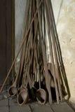 Ржавые стеклянные инструменты Стоковое фото RF