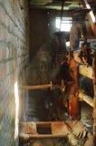 Ржавые трубы, пыль Стоковая Фотография RF
