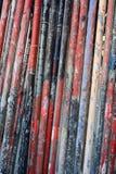 Ржавые трубы grunge Стоковое Изображение RF