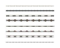 ржавые футуристические рассекатели Стоковое Изображение