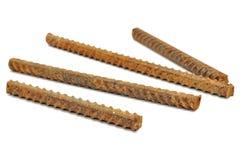 Ржавые штанги металла Стоковое Изображение RF