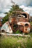 Ржавый автомобиль Стоковое фото RF