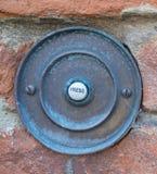 Ржавый дверной звонок Стоковые Изображения RF