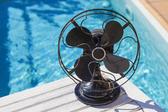 Ржавый винтажный вентилятор Стоковое Фото