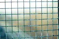 Ржавый гриль металла с выпарками краски Стоковые Фотографии RF