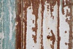 Ржавый лист цинка Стоковое фото RF