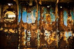 Ржавый иллюминатор стоковая фотография rf