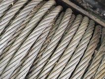 Ржавый кабель aling стоковые изображения