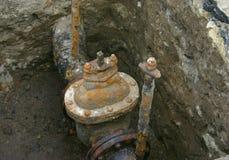 ржавый клапан Стоковые Фотографии RF