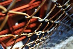 Ржавая загородка Стоковые Фотографии RF