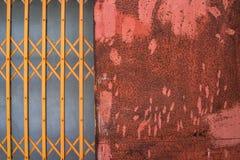 Ржавый конец стали вверх по текстуре Стоковая Фотография