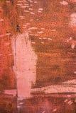 Ржавый конец стали вверх по текстуре Стоковые Фото