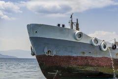 ржавый корабль Стоковое Изображение