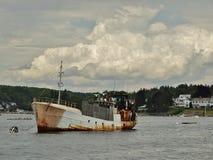 ржавый корабль Стоковая Фотография