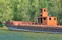 ржавый корабль Стоковые Фото