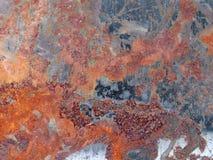 Ржавый металл Стоковое Фото