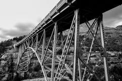 Ржавый мост Стоковое фото RF