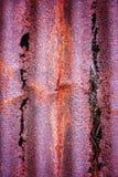 Ржавый распадаясь металл Стоковые Фото