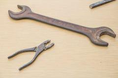 Ржавый старый инструмент Стоковые Фотографии RF
