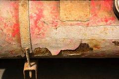 Ржавый старый конец приемника автомобиля Стоковые Изображения RF