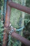 Ржавый строб фермы Стоковые Фото