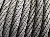 Ржавый слинг кабеля Стоковое фото RF