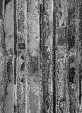 Ржавый цинк как резюмированная предпосылка Стоковая Фотография RF