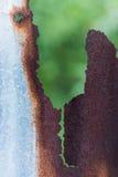 ржавый цинк Стоковое Фото