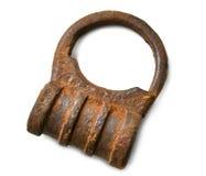 Ржавый padlock для двери Стоковые Изображения RF