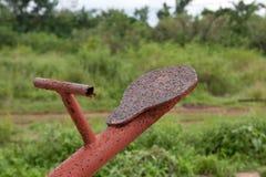 ржавый seesaw Стоковые Изображения RF