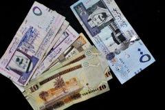 Риал бумажных денег Саудовской Аравии Стоковое Изображение RF