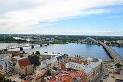 Рига, Латвия стоковая фотография rf