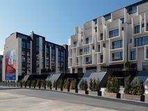 Рига, новый район в центре города стоковое фото rf