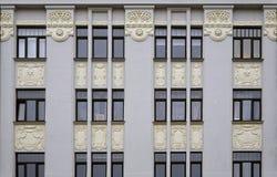 Рига, улица 27 Matisa, современная стоковое фото rf