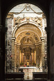 Риети (Италия), интерьер собора Стоковое Изображение