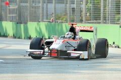 Рикардо Teixeira участвуя в гонке в Сингапур GP2 2012 Стоковые Изображения RF