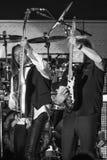Риккии Phillips & детеныши Джеймс STYX выполняя на концерте Калифорнии Стоковые Изображения RF