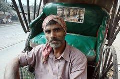 рикша водителя стоковые изображения