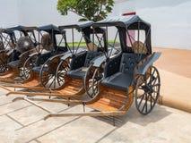 рикша вытягиванная рукой Стоковые Изображения RF