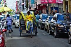 Рикша в Гваделупе стоковые фото
