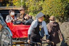 Рикша в Киото стоковые изображения