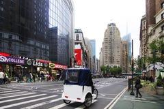Рикша в Нью-Йорке Стоковая Фотография RF