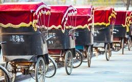 Рикша в Пекине Китае 28-ое марта 2017 стоковые фото
