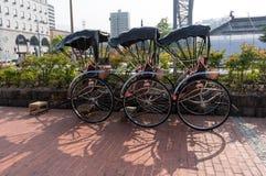 Рикша в Otaru стоковое изображение rf