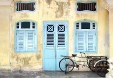 Рикша. Джорджтаун, Малайзия стоковая фотография rf